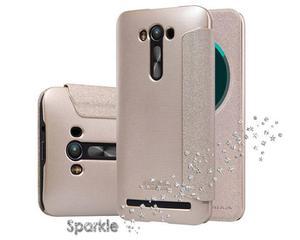 Etui Nillkin Sparkle Asus Zenfone 2 Laser ZE500KL Złote - Złoty - 2825180075