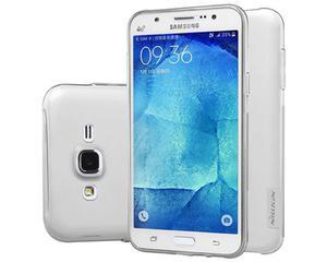 Etui Nillkin Nature TPU 0.6mm Samsung Galaxy J5 Białe - 2825180091
