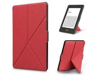 Etui Futerał ORIGAMI do Amazon Kindle Paperwhite 1 2 3 na magnes Czerwone - Czerwony - 2880039919