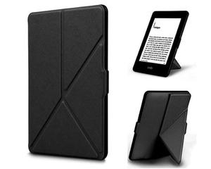 Etui ORIGAMI do Amazon Kindle Paperwhite na magnes - Czarny - 2880267953