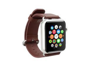 Pasek skórzany klasyczny Apple Watch 38mm - Brązowy - 2825180112