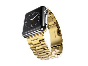 Pasek bransoleta stal nierdzewna do Apple Watch 38 mm - Złoty - 2825180661