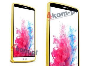 Bumper Love Mei do LG G3 - Złoty - 2825177888