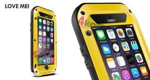 Pancerne etui LOVE MEI do iPhone 6 - Żółty - 2825177921