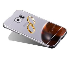 ETUI BUMPER PLECKI MIRROR DO GALAXY S7 Edge Srebrne - Srebrny - 2825181377