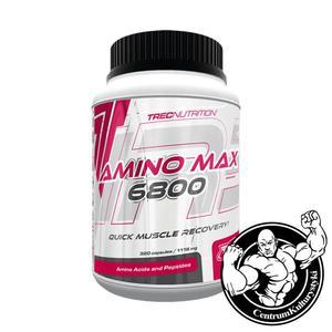 AminoMax 6800 320 caps. Aminokwasy Trec Nutrition - 2823551785