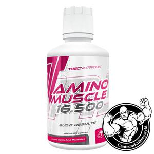 Amino Muscle 16.500 - 946 ml Aminokwasy całodzienne Trec Nutrition - 2823551787