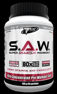 S.A.W. Super Anabolic Workout 400g (SAW), Trec Nutrition - 2823552592