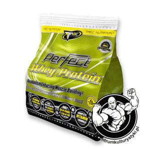 Perfect Whey Protein 2,5 kg Odżywka białkowa Trec Nutrition Smak Czekoladowy - 2823552611
