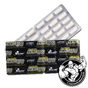Anabolic Amino 5500 Mega Caps 30 kaps. Aminokwasy Olimp - 2823552702