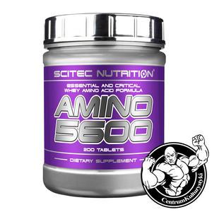 Amino 5600 200 tabl. Aminokwasy Scitec - 2823552717