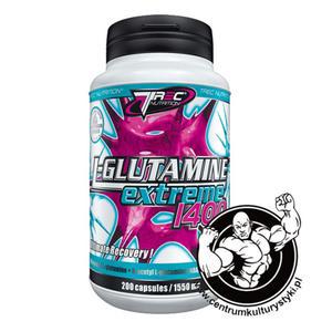 L-Glutamine Extreme 400 caps. Matrix glutaminowy Trec Nutrition - 2823551849