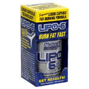 Nutrex Lipo-6 - 120 caps - 2823551948