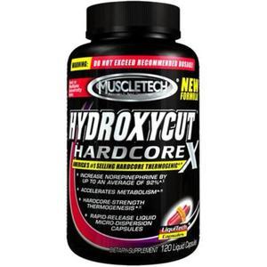 Muscletech - Hydroxycut Hardcore 120 caps - 2823551751