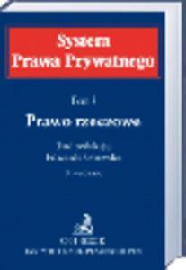 Prawo rzeczowe. System Prawa Prywatnego. Tom 3. Wydanie 3 - 2829394316