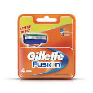 Gillette Fusion 4szt [M] OSTRZA - 2857395871