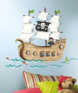 Naklejki Statek Piratów - 2833464376