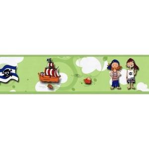Pasek dekoracyjny z Piratami Bord Piraci - 2833464550