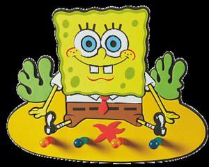 Wieszak SpongeBob Kanciastoporty - 2833470179