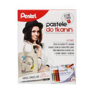 Pentel pastele do tkanin + Torba - 2833470223