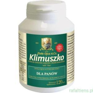 Tabletki na Potencję dla Panów 120 tab. Zioła Klimuszko - 2838737590