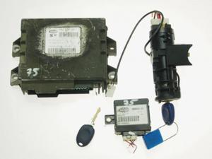 komplet, zestaw: komputer, stacyjka, kluczyki, centralka immobiliser Fiat Palio 1,2 IAW 18F.B2...