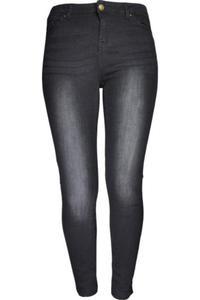 New Look Czarne Spodnie, Przetarcia - 2845626274