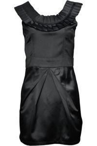 Sukienka Wieczorowa, wesele, tulipan, czarna - 2837268467