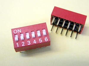 DIP-6 - DIPSCHALTER 6 POZYCJI (Dip-switche) - 2832614247