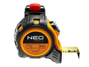 Neo Miara stalowa zwijana 3m z zaczepem i autostopem 67-203 - 2859874799