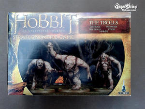 The Hobbit - Figurki Trolls