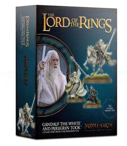 Lord of The Rings: figurki Gandalf the White and Peregrin Took Lord of The Rings: figurki Gandalf the White and Peregrin Took Middle Earth Strategy Battle Game - 2902928090