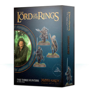Lord of The Rings: figurki The Three Hunters Lord of The Rings: figurki The Three Hunters - Middle Earth Strategy Battle Game - 2902928091
