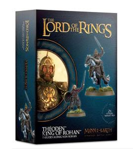 Lord of The Rings: figurki Theoden King of Rohan Lord of The Rings: figurki Theoden King of Rohan Middle Earth Strategy Battle Game - 2902928092