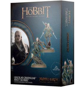 Lord of The Rings: figurki Legolas Greenleaf & Tauriel Lord of The Rings: figurki Legolas Greenleaf & Tauriel - Middle Earth Strategy Battle Game - 2902928093