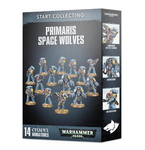 Start Collecting! Figurki Primaris Space Wolves Start Collecting! Figurki Primaris Space Wolves - 2902928118