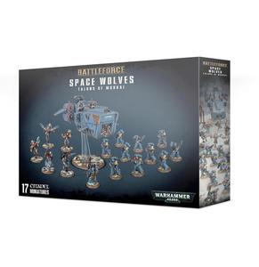Battleforce: Figurki Space Wolves Talons of Morkai Battleforce: Figurki Space Wolves Talons of Morkai - 2902928194