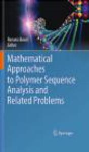 Mathematical Approaches to Polymer Sequence Analysis & Relat - 2822223375