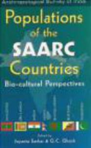 Populations Of The Saarc Countries - 2822224077