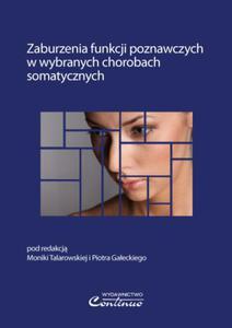 Zaburzenia funkcji poznawczych w wybranych chorobach somatycznych - 2822224133