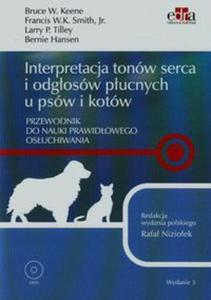 Interpretacja tonów serca i odgłosów płucnych u psów i kotów + DVD - 2848936619