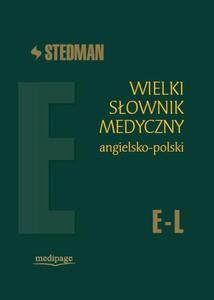 Stedman. Wielki słownik medyczny angielsko-polski E-L - 2822221168
