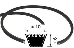 Pasek klinowy Z24,5 ( 10 x 620 Li - długość wewnętrzna 620 mm ) - 2823179773