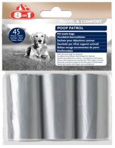 8in1 Worki na odchody Poop Patrol Pet Waste Bags - 3 rolki - 2847730437