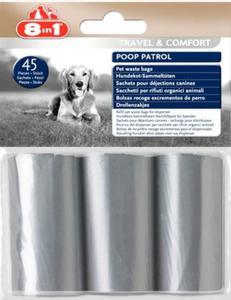8in1 Worki na odchody Poop Patrol Pet Waste Bags - 6 rolek - 2847730439