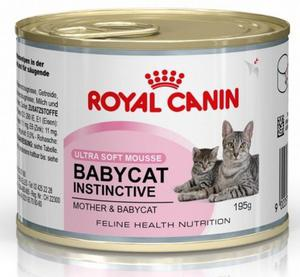Royal Canin Feline Babycat Instinctive puszka 195g - 2836699216