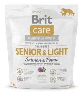 Brit Care Grain Free Senior & Light Salmon & Potato 1kg - 2857843413