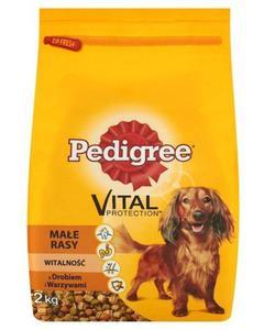 Pedigree Adult Małe Rasy Drób i warzywa 2kg - 2856327435
