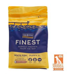 Fish4Dogs Finest Ocean White Fish Puppy Small 6kg - 2847218847