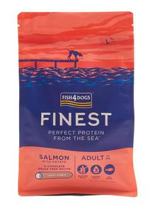 Fish4Dogs Finest Salmon Adult Small 1,5kg - 2845411620